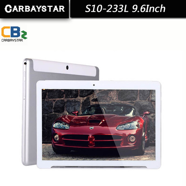 Wholesale- CARBAYSTAR 9.6 inch Octa Core 1.5GHz Ram 2GB Rom 32GB Android 5.1 4G LTE Phone Call smart Tablet PC, Support WCDMA / WiFi / GPS
