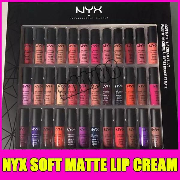 2017 nyx oft matte lip cream nyx 36pc et lip tick lip glo matte no fading ofe velvet lip makeup 36 color et