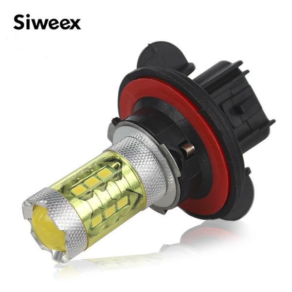 H13 H15 H16 P13W 80W Chip Lâmpada LED amarelo Wedge Car Fog Lamp Auto Luz reverso para backup Estacionamento Luz Traseira 12V