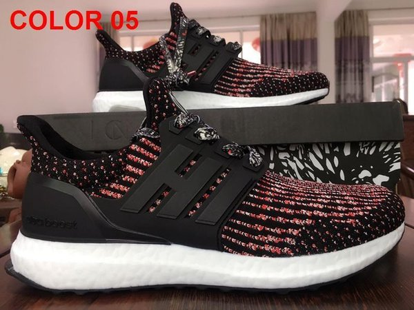 897692c1c 2017 Ultra boost 3.0 Triple Black Running Shoes Men Women Top Quality Ultra  Boost Hypebeast Primeknit