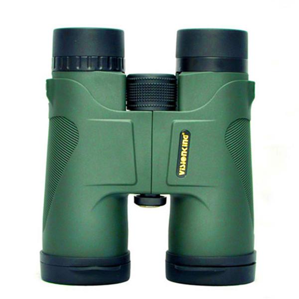 Visionking Alta qualità binocolo da caccia 10x42 Telescopio impermeabile binocolo verde e nero Prismaticos De Caza Binocolo