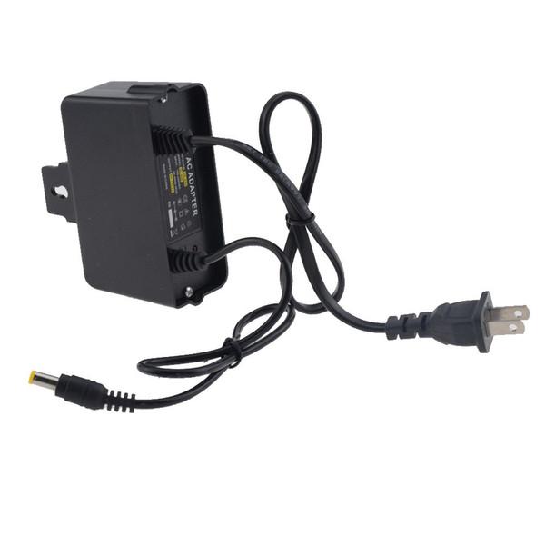 Новый DC 12V 2A адаптер питания для CCTV камеры стены висит водонепроницаемый открытый адаптер питания