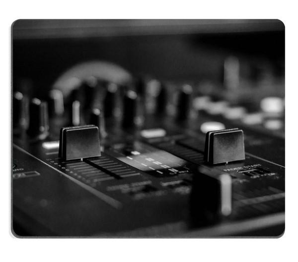 Mousepads Preto Branco foto de uma mesa de mistura DJ 22014896 Personalizado Arte Desktop Laptop Gaming mouse pad