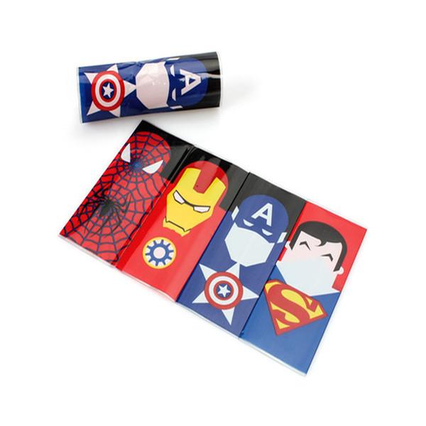 18650 Pelle manica della batteria PVC Tubi termorestringenti Wrap in forma li Superhero lusso Serventi Hulk Batman Re-wrapping 12 stili