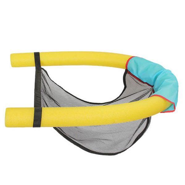 Lot de 2 flottant Piscine Chaise Noodle Sling Natation Mesh Net Siège eau Flotteur
