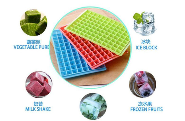 Ice Maker Mold 96 Grid Cube Diamond Square Shape 150 Grid Lover Heart shape Silicone Mini Ice Cube Tray Mold Ice Chocolate Baking
