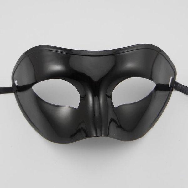 Мужская маскарадная маска необычные платья венецианские маски маскарадные маски верхняя половина маска для лица с дополнительными цветами (черный, белый, золото, серебро)