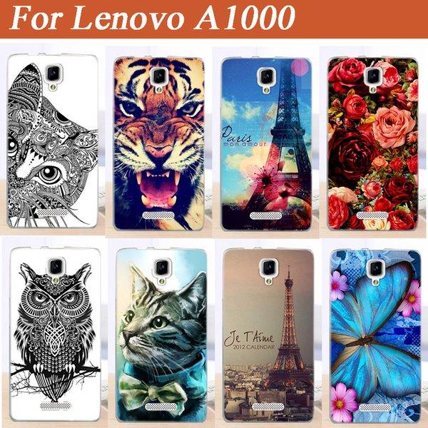Großverkauf für Lenovo A1000 Fallabdeckung, neuer Ankunfts-vollkommener Entwurfs-Anstrich-rückseitige Abdeckungs-Fall für Lenovo A1000 A 1000 Telefon-Fälle Heißer Verkauf