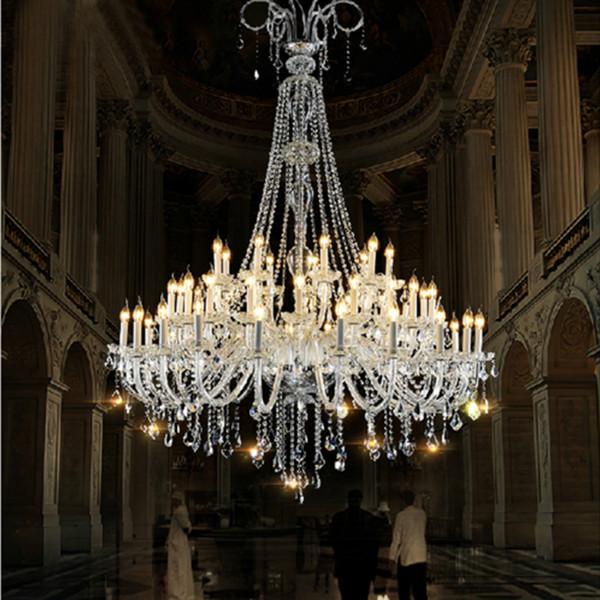 moderne groe kristall kronleuchter fr foyer modernen groen kristall kronleuchter fr kirche halle fhrte - Kronleuchter Fur Foyer