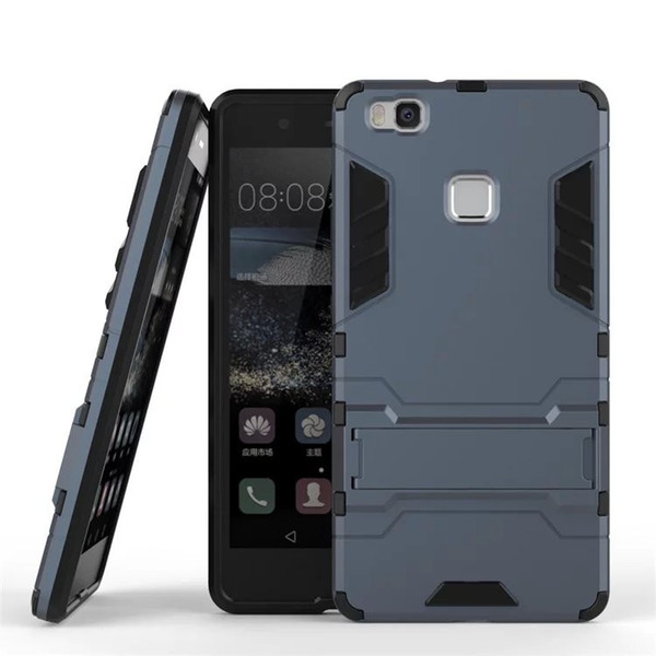 design di qualità fc88e f7778 For Huawei P9 Lite P9 Plus Case Slim Hard Back Phone Case Robot Armor  Protector Hybrid Rugged Rubber Cover For Ascend P9 Lite Waterproof Cell  Phone ...