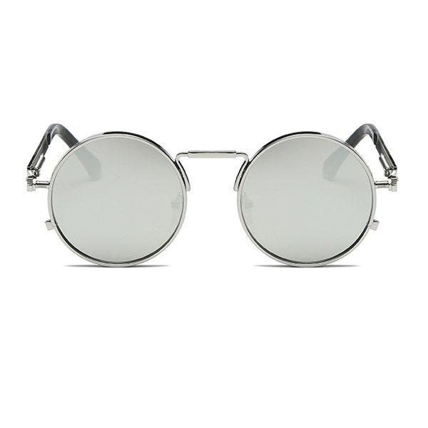 C8 الفضة الإطار الفضة مرآة