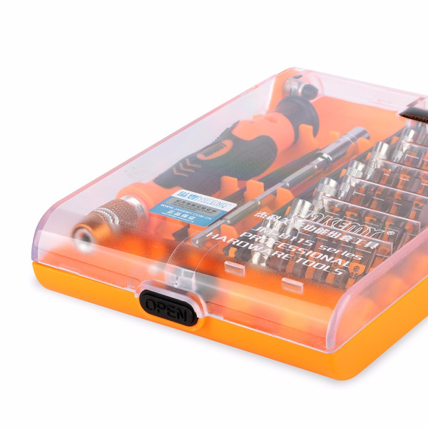 DHL 20Sets Jakemy JM-8115 45 In 1 austauschbaren magnetischen Präzisions-Schraubendreher-Satz für Reparaturwerkzeuge von Repair Tools für Handy-Computer