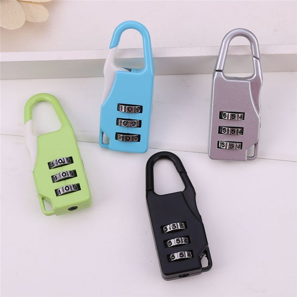 Luggage Security Code Lock Smart Combination Locks Different Designs And Colors Mini Kirsite Durable Number Small Easy To Carry 1 35qs J R