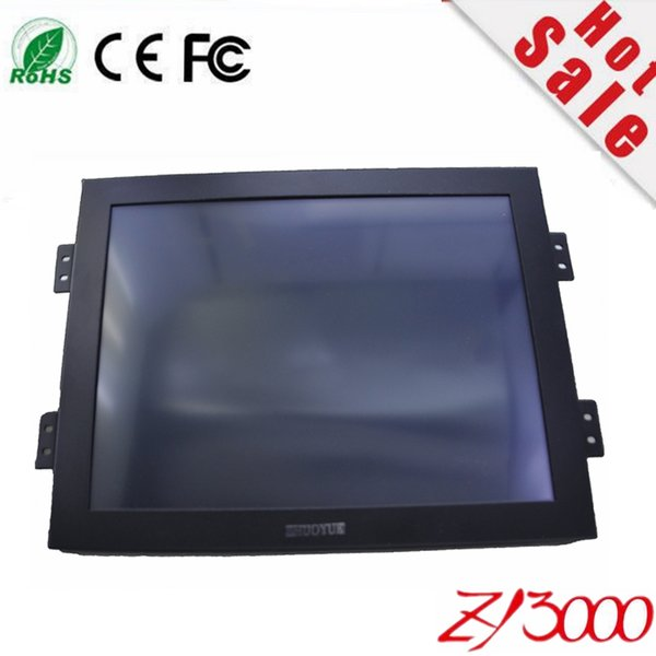 best selling new factory wholesale 10.4 inch 4:3 800*600 metal case touch screen monitor for machine waterproof dust monitor