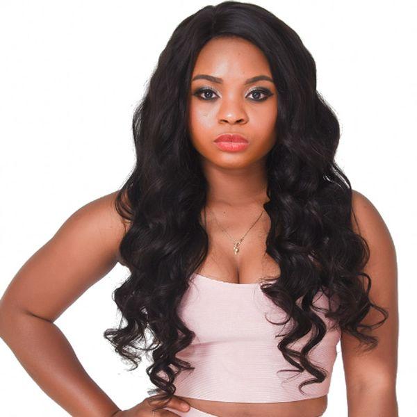 Body Wave Silk Top Full Lace Wig for Black Women Brazilian Lace Front Human Hair Wigs 4x4 Silk Base FDSHINE