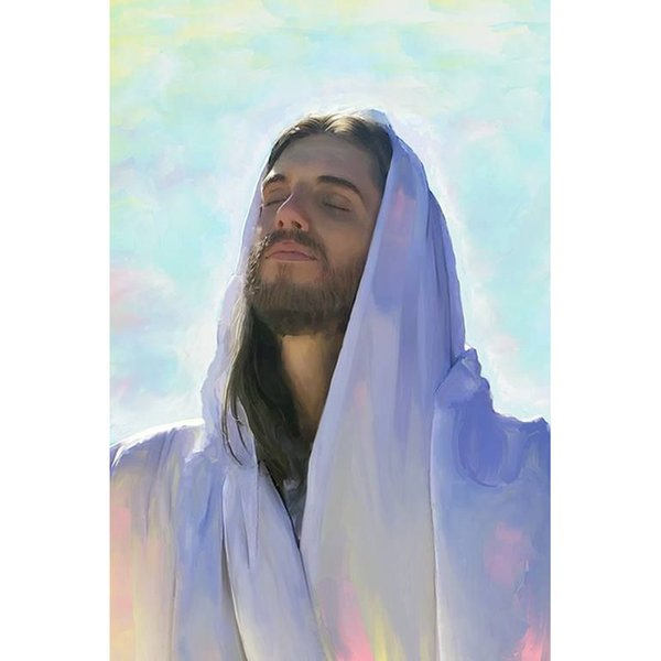 Jesus Messiah Pattern DIY Diamond Painting Embroidery 5D Cross Stitch Crystal Square Unfinish Home Bedroom Wall Art Decor Craft Gift