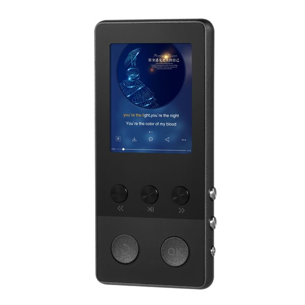 A5 Plus 8GB Digital Player HiFi Metal Music MP3 Player Audio &Video Player FM Radio Voice Recording TF Card 1.8 Screen