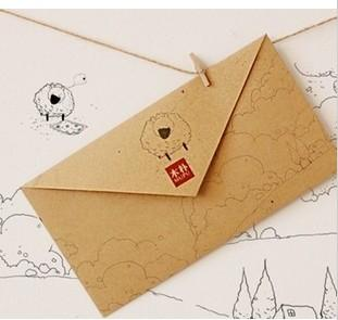 Kraft Envelopes customized Pantone solid color high quality paper for business/postcards/mailing/gift/letter Size DL/ZL/C4/C5/A5 (XF-05)