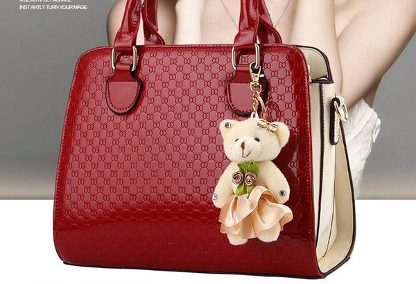 bfce631e520 Soperwillton Brand New 2016 Women Bag With Fashion Doll Composite Bag For Female  PU Leather Geometric