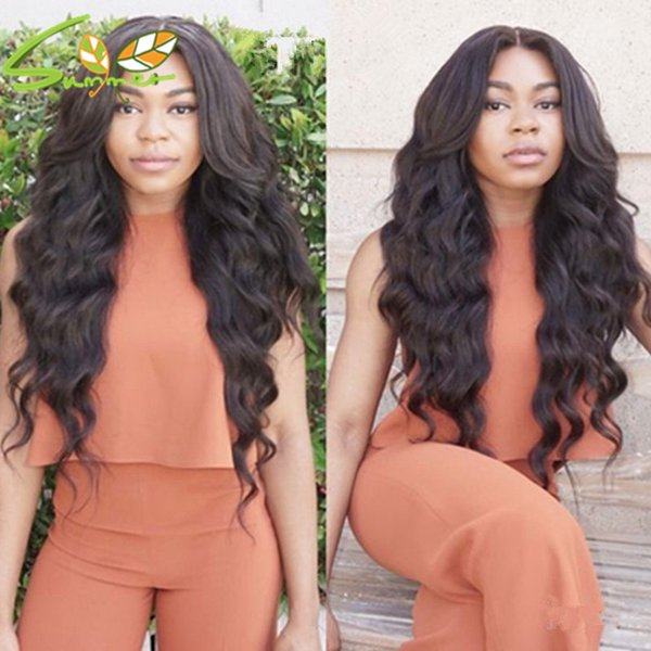 7A High Density Brazilian Loose Curly Full Lace Wigs For Black Women Loose Curly Wave Human Hair Lace Frontal Wigs Curly Wigs