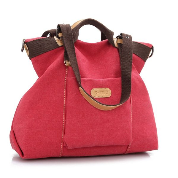 Fashion Business casual men's and women's bags handbag Canvas Totes Multi-function bag 4 colors to choose from
