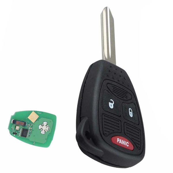 Guaranteed 100% 3Buttons Replacement Key Keyless Entry Remote Car Head Ignition Combo Clicker Fob Smart Key Fob Free Shipping