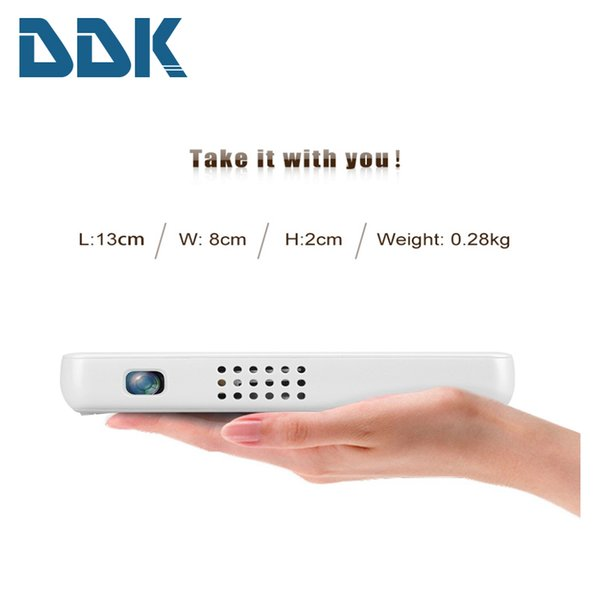 Wholesale-GP1S DLP Projector AV IN/SD/USB/VGA/HDMI Home Theater 800*480 Resolution 500 Lumen Proyector support DVD/Mobile Phone