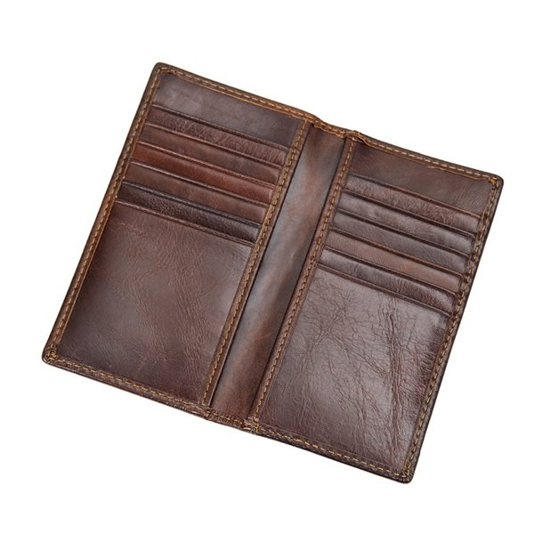 Wholesale- J.M.D RFID Blocking Leather Wallet Men's Genuine Leather Short Dollars Wallets Quality Guarantee R-8119Q
