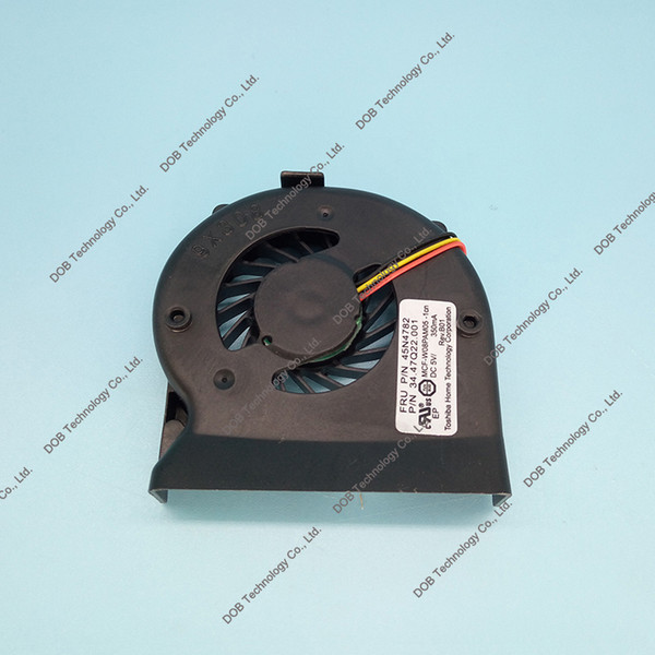 Wholesale- 44C9550 44C9549 45N4782 60Y5422 MCF-W08PAM05 MCF-W08PAM05-2 laptop CPU Cooling Fan For lenovo IBM Thinkpad X200 X201I X201 Fan