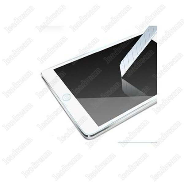 50PCS Explosion Proof 9H 0.3mm Screen Protector Tempered Glass for iPad Mini 1 2 3 4 without Package free DHL