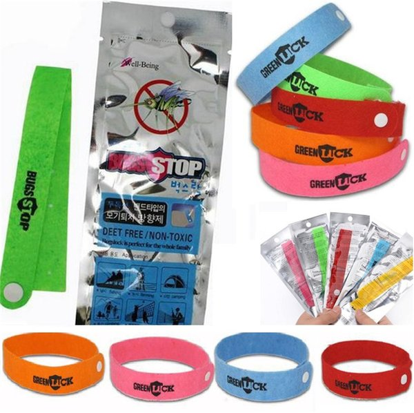 top popular New Mosquito Repellent Band Bracelets Anti Mosquito Pure Natural Baby women and men Wristband Hand Ring 4076 2019
