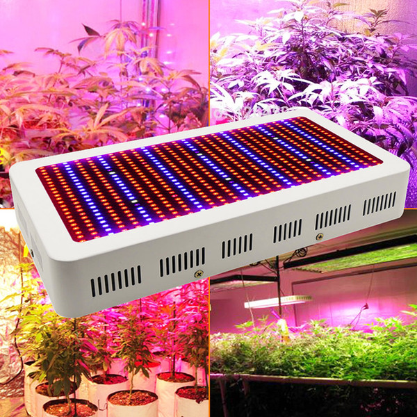 400 LEDs Grow Lights Full Spectrum 400W 600W Indoor Plant Lamp For Plants Vegs Hydroponics System Grow/Bloom Flowering Free Shipping