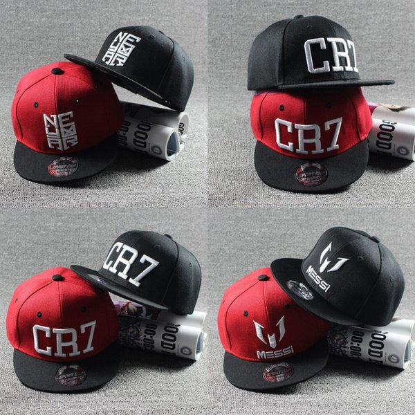 2017 New Summer Children Ronaldo CR7 Baseball Cap Hat Boys Girls MESSI Snapback Hats Kids Sports Neymar NJR Hip Hop Caps