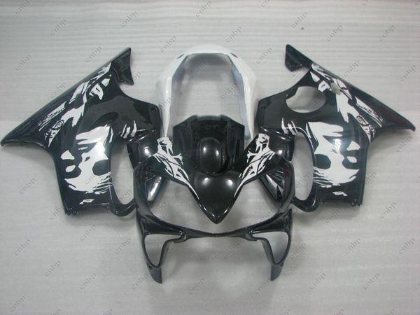 Body Kits CBR600F4i 2005 Fairing Kits for Honda Cbr600 2007 Black White GIRL Full Body Kits CBR 600 06 07 2003 - 2007