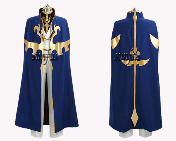 CODE GEASS Lelouch of the Rebellion R2 Suzaku Kururugi Cosplay Costume : lelouch cosplay costume  - Germanpascual.Com