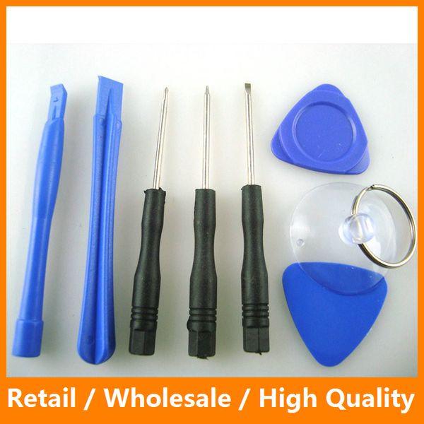 Handy-Öffnungs-Hebel-Reparatur-Tool-Kit Schraubendreher-Tools-Set Ferramentas Kit für iPhone 5 5s 6 6s 6s Plus iPad