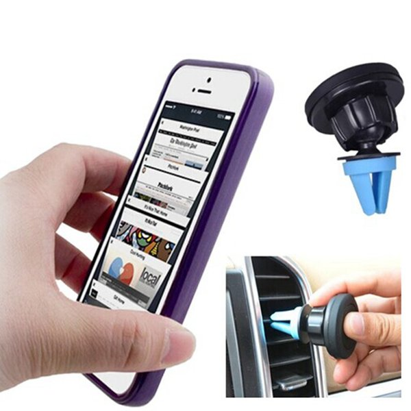 Magnetic Phone Mount Universal Car Air Vent Cell Phone Holder for iphone 7 7plus 6 6s for Samsung Smartphone GPS