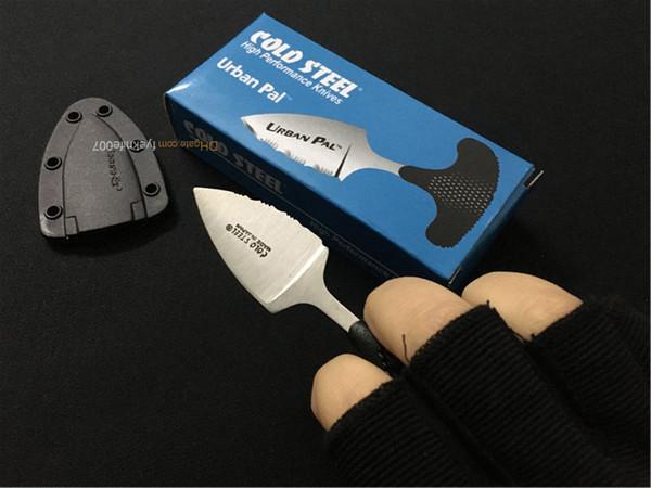 Cold Steel Push Dolch Mini Reparierte Klinge Messer Urban Pal Punching Messer Multifunktions ourdoor Wandern Camping Hand Werkzeug Überleben Messer