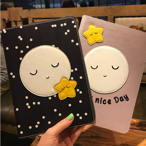 Perfect gift Cartoon Slim Leather Flip Cover Case Stand Shell Housing protector For iPad Mini 1 2 3 4 For Ipad 5 6