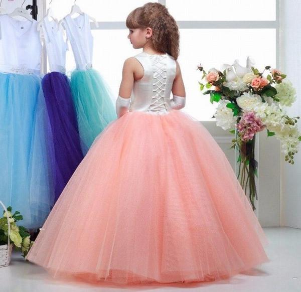 Compre Encantadora Princesa Desfile Vestido De Fiesta Vestido De ...