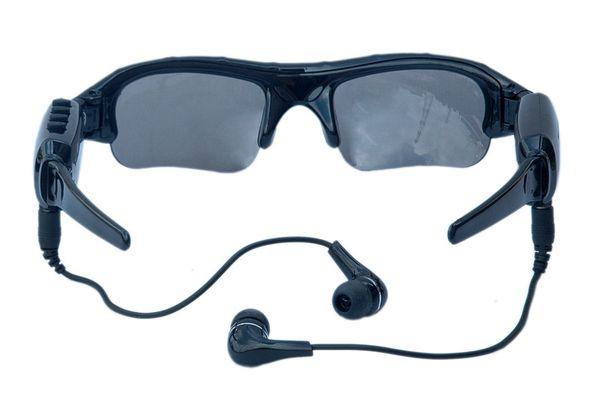 720p смарт солнцезащитные очки HD камера очки Bluetooth музыка очки поддержка TF карта видеорегистратор DVR DV видеокамера 30 кадров в секунду Handfree