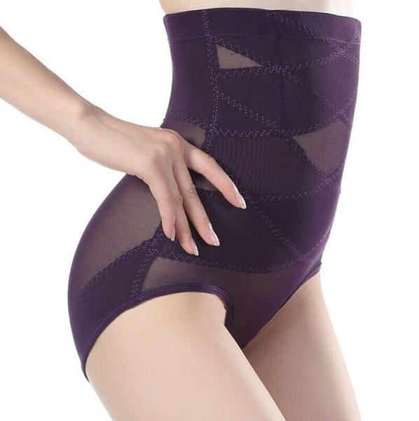 3 colors fashion sexy shapers abdomen panties drawing postpartum female body shaping pant High Waist Corset Shaper Sexy Underwear Bodysuits
