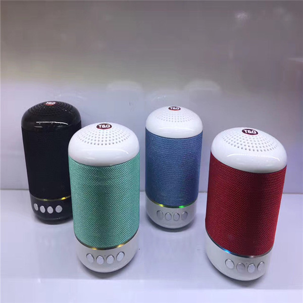 Factory Direct Wireless Bluetooth Card Speaker Mesh Cloth Car Bass Steel Gun Mini Speaker Bluetooth Audio, High Quality, Free Shipping