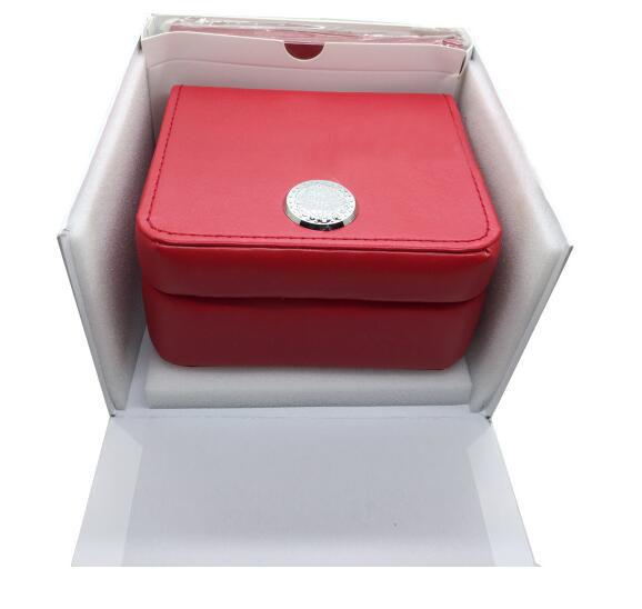 Factory Sale New Luxury Mens Original Brand Red Boxes Papers Watches Booklet Card Gift For Man Men Women Watch Boxes