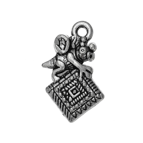 one side Quilting Bee horse Animal Accessory Charm Antique Silver Plated Charm DIY Necklace&Bracelet Jewelry Special style hot sell