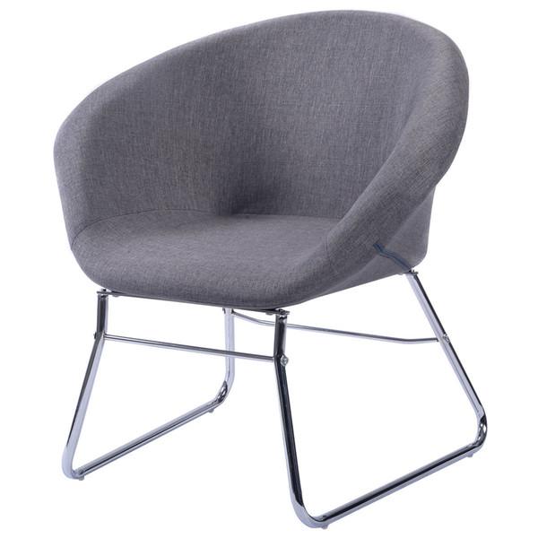 Tremendous 2019 New Modern Gray Accent Chair Leisure Arm Sofa Lounge Inzonedesignstudio Interior Chair Design Inzonedesignstudiocom