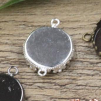 Silver Plated 15MM Blank