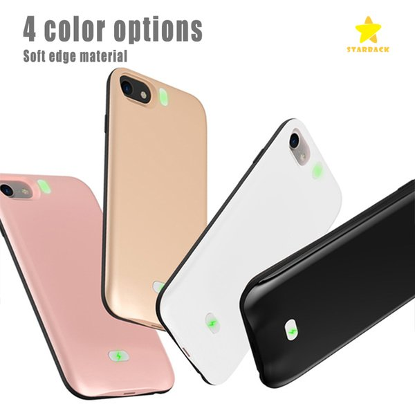 4000mah Power Bank Phone Charger Battery Case Slim External Battery Cover for phone 6 6s phone 7 with Retail Package