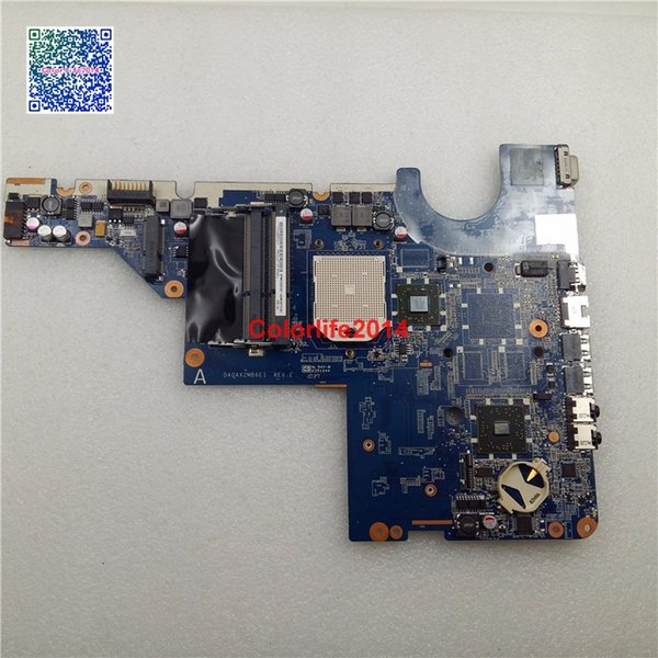 DA0AX2MB6E1 592809-001 For HP Pavilion G42 G62 Motherboard without Graphics Card Fully Tested