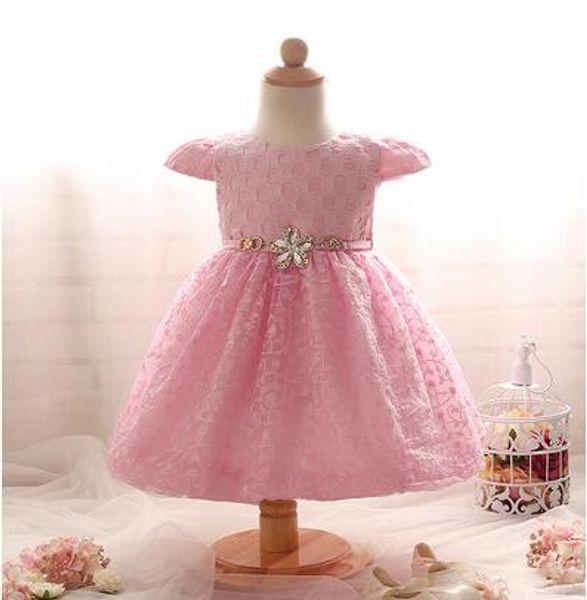Wholesale Flower Girls Dress baby girl kids rose tutu dress Floral Tutu Dress Flower Tutu Dress pettutuTulle Cake layers Lace dress